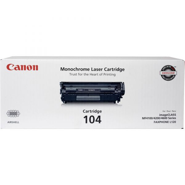 Canon 104 Black Toner Cartridge (CARTRIDGE104)
