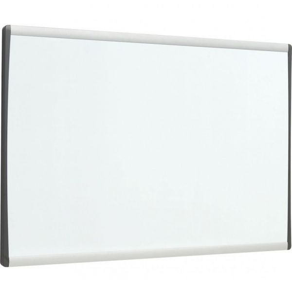 "Quartet 30"" x 18"" Arc Magnetic Painted Steel Cubicle Dry Erase Whiteboard"
