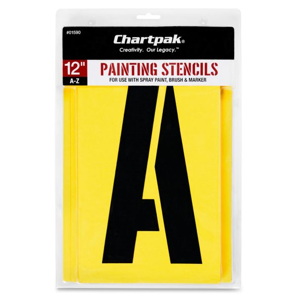 Chartpak Painting Letter Stencil Set
