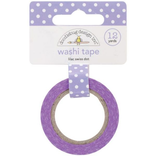 Doodlebug Washi Tape 15mmX12yd