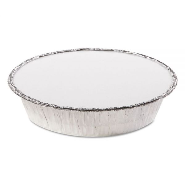 Handi-Foil of America Round Takeout Aluminum Containers w/Lids