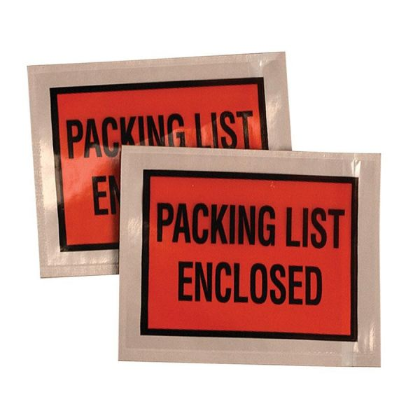 Quality Park Packing List Envelopes with Adhsv. Back