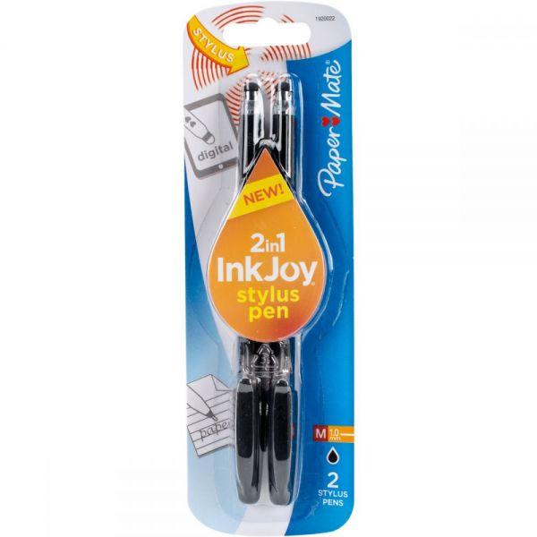 InkJoy Gel Pen 1.0mm with Stylus 2/Pkg