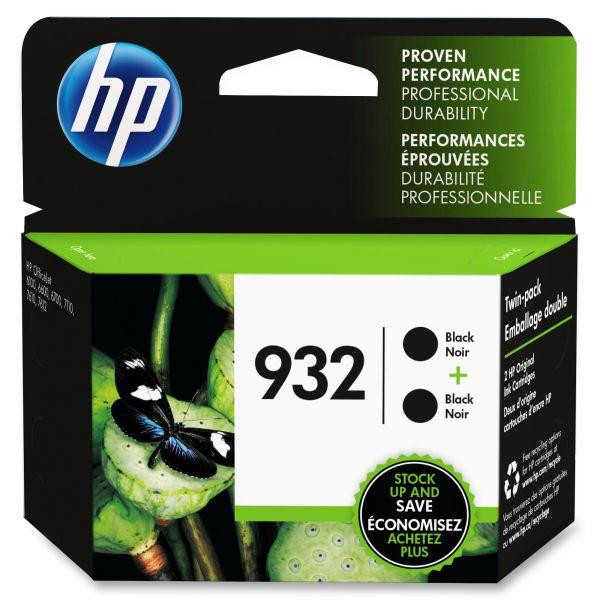 HP 932 Black Ink Cartridges (L0S27AN)