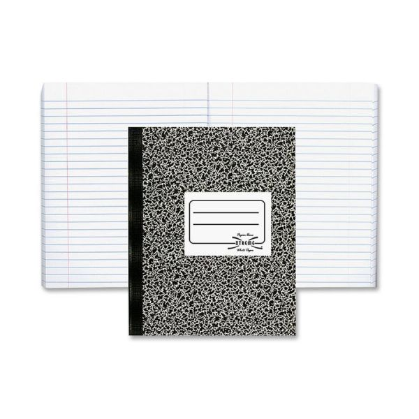 National Composition Book, College/Margin Rule, 10 x 7 7/8, White, 80 Sheets