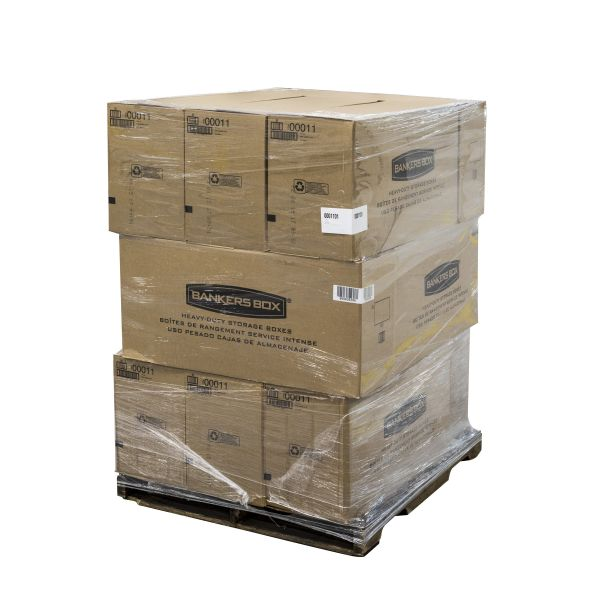 Bankers Box Liberty Heavy Duty Storage Boxes - 144 Boxes/Pallet