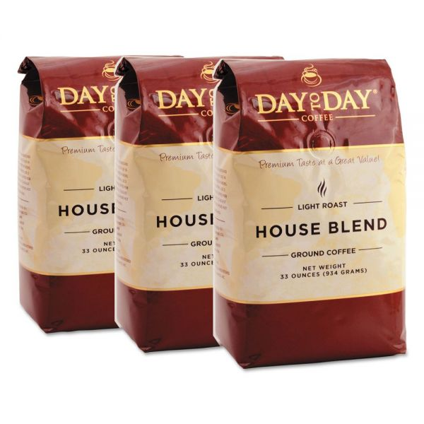 Day to Day Coffee 100% Pure Ground Coffee (2 lb Bags)