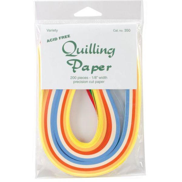 """Quilling Paper .125"""" 200/Pkg"""