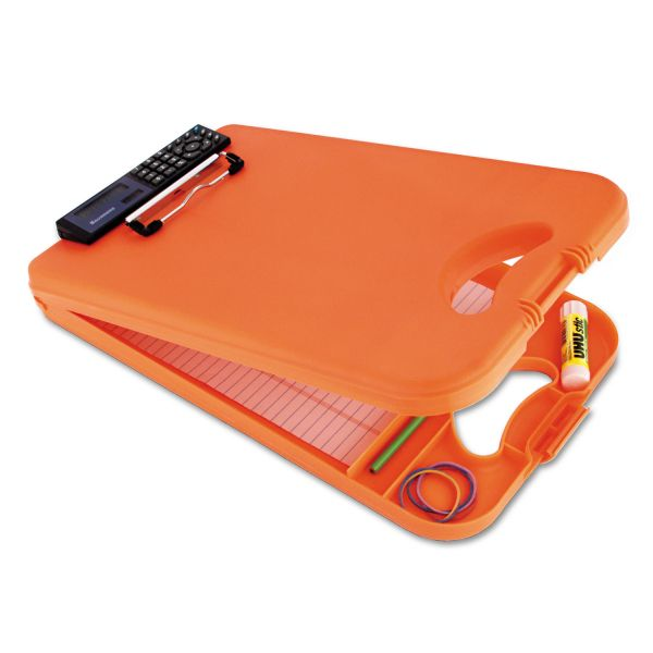 Saunders DeskMate II Portable Storage Clipboard With Calculator