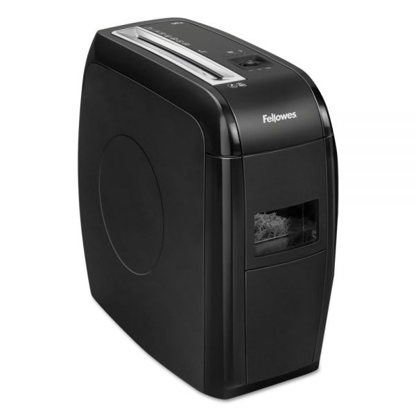 Fellowes Powershred 12Cs Light-Duty Cross-Cut Shredder, 12 Sheet Capacity