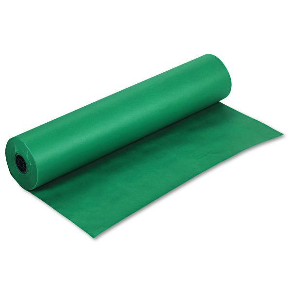 "Pacon Rainbow Duo-Finish Colored Kraft Paper, 35 lbs., 36"" x 1000 ft, Emerald"