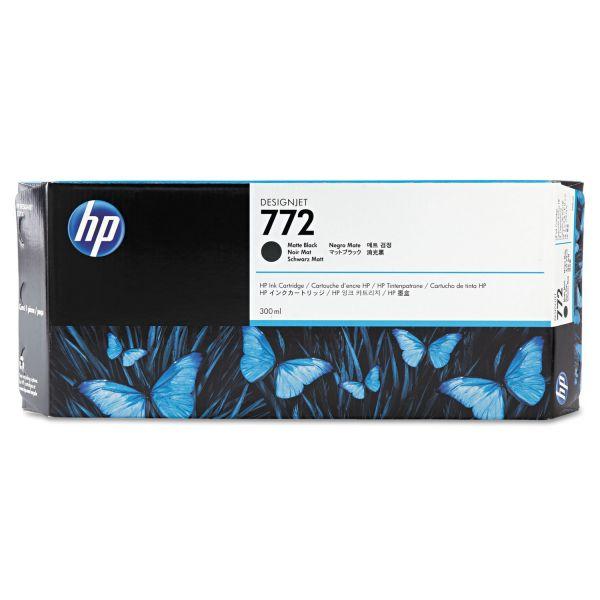 HP 772, (CN635A) Matte Black Original Ink Cartridge