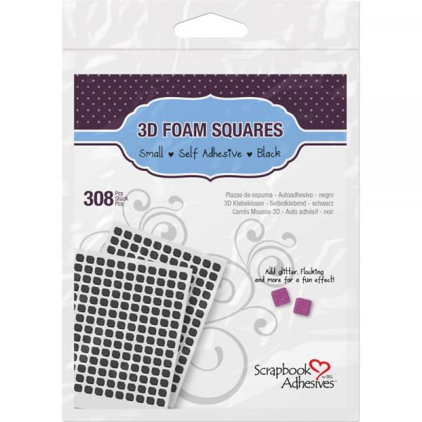 Scrapbook Adhesives 3D Self-Adhesive Foam Squares 308/Pkg