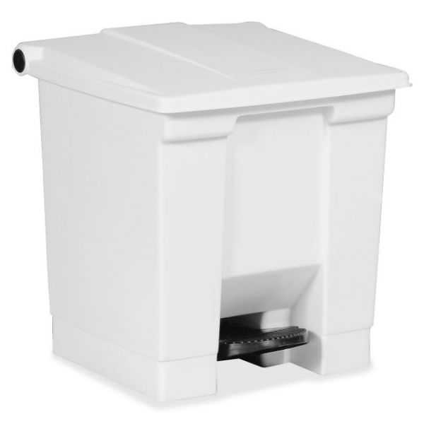Rubbermaid Commercial 8 Gallon Step-On Trash Can