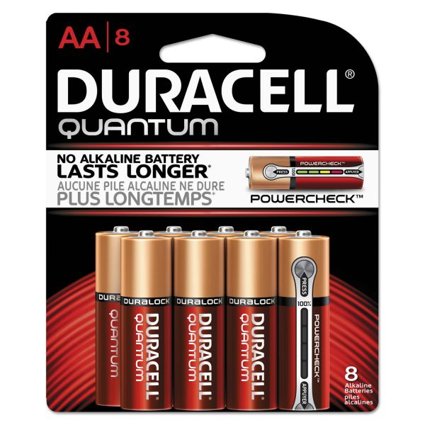 Duracell Quantum Advanced Alkaline AA Batteries