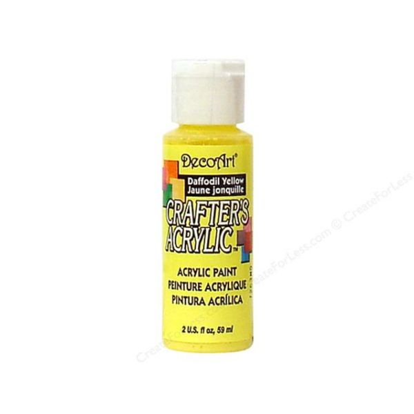 Deco Art Daffodil Yellow Crafter's Acrylic Paint