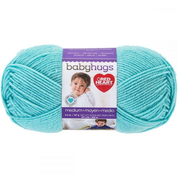 Red Heart Baby Hugs Yarn - Pool