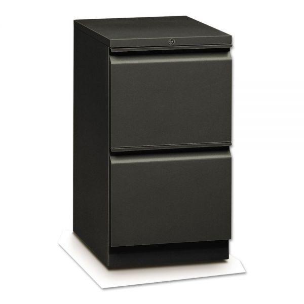 "HON Flagship Mobile Pedestal | 2 File Drawers | 15""W"