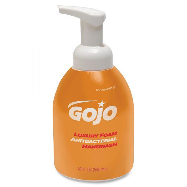 GOJO Luxury Foam Antibacterial Hand Soap