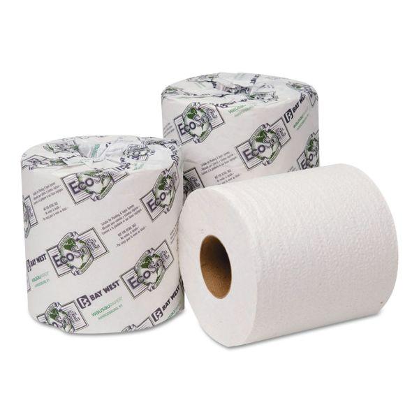 EcoSoft Universal 2 Ply Toilet Paper