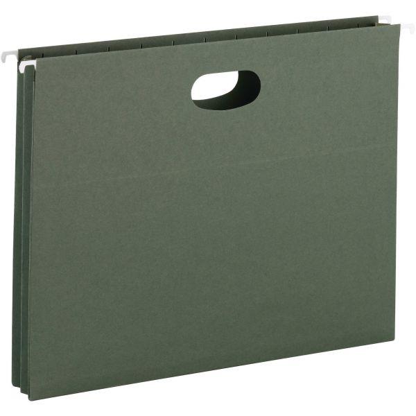 Smead 64218 Standard Green Hanging Pockets