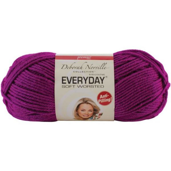 Deborah Norville Collection Everyday Yarn - Bright Violet