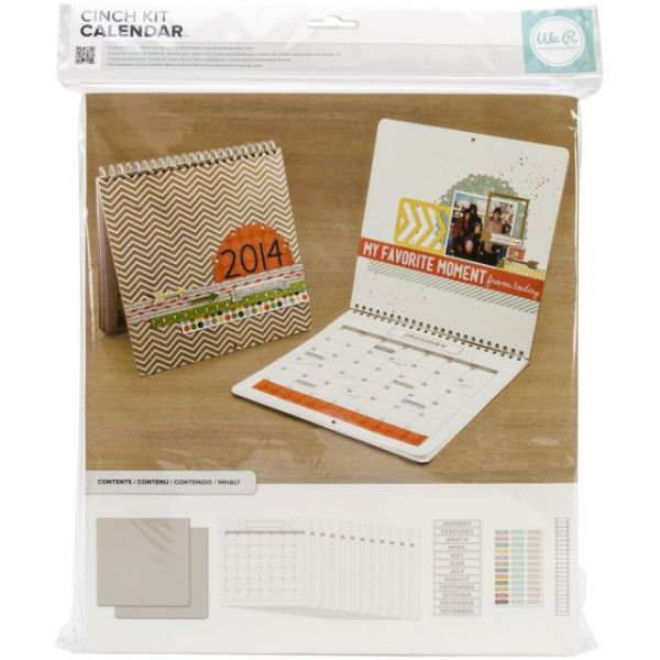"Cinch Calendar Kit 12.5""X13.25"""