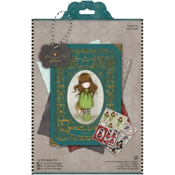 Simply Gorjuss A4 Decoupage Pack