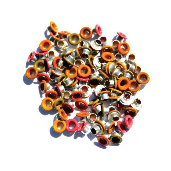 Eyelet Outlet Quicklets Round 84/Pkg
