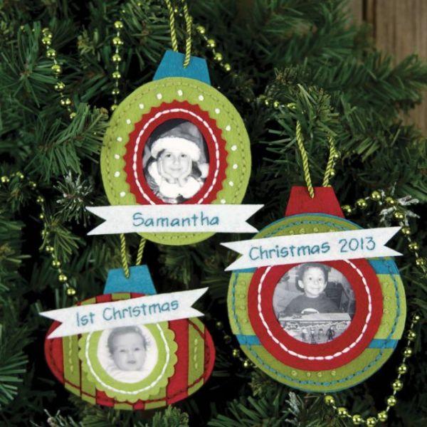 Framed Ornaments Felt Applique Kit