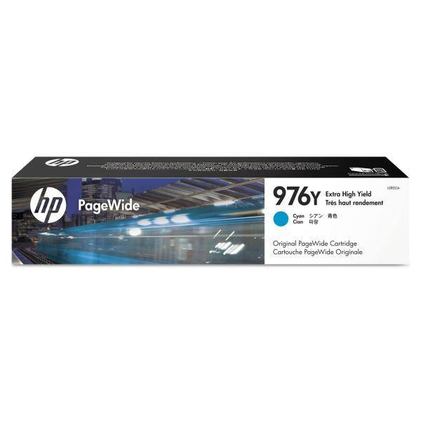 HP 976Y Cyan Ink Cartridge (L0R05A)