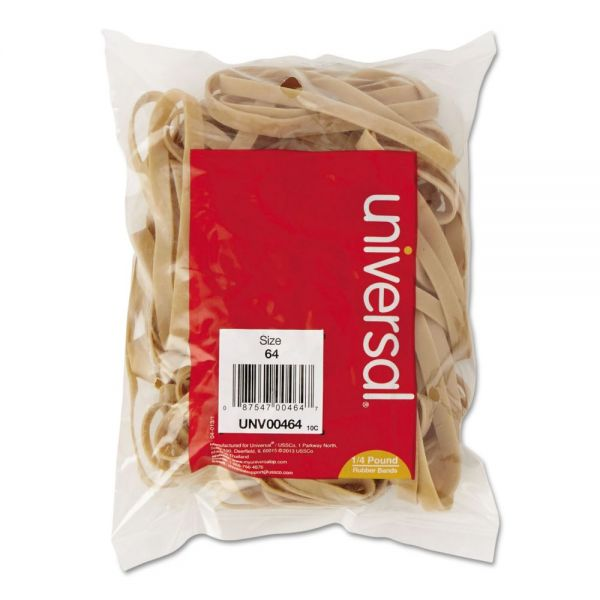 Universal #64 Rubber Bands (1/4 lb)