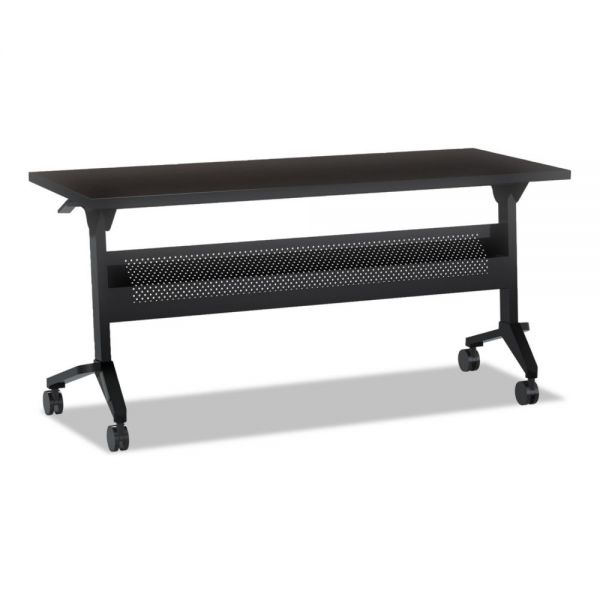 Mayline Flip-n-Go Table Top, 72w x 24d, Mocha