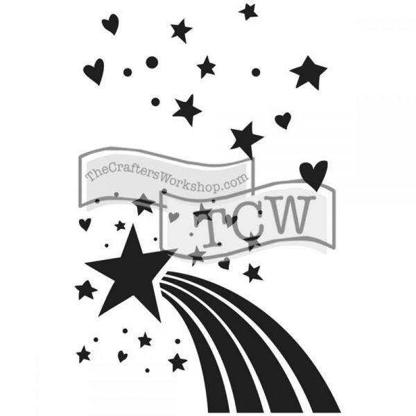 """Crafter's Workshop Journaling Stencils 6""""X9"""""""