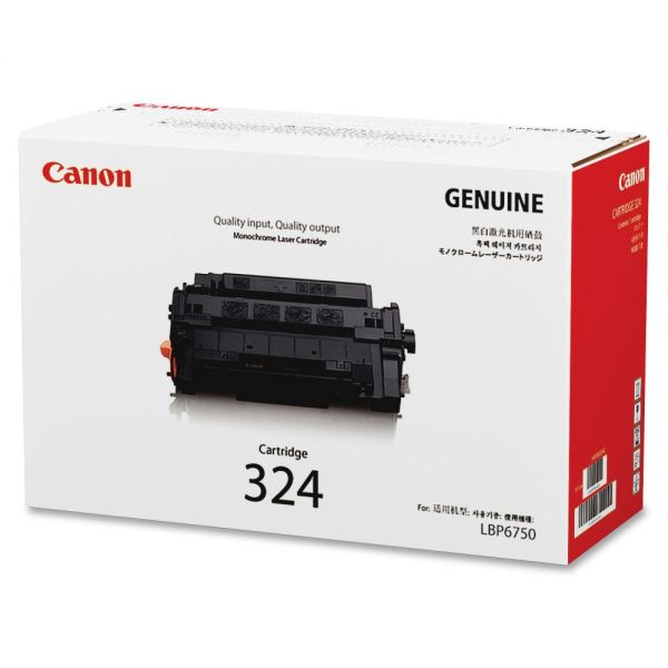 Canon 324 Black Toner Cartridge (CARTRIDGE324)
