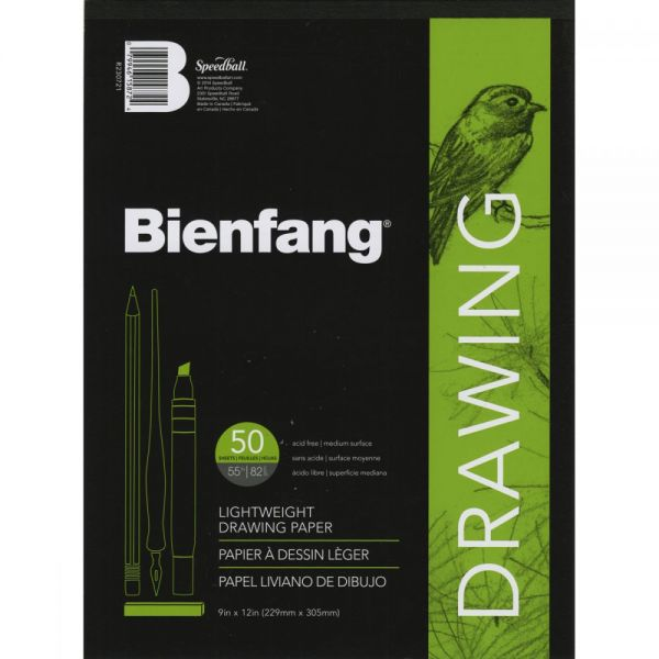 Bienfang Acid Free Drawing Paper Pad