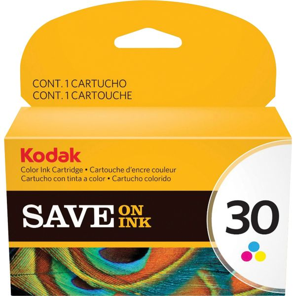Kodak 30 Tri-Color Ink Cartridge (1022854)