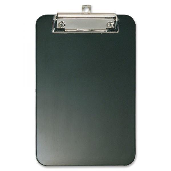 "Officemate 6"" x 9"" Black Plastic Clipboard"