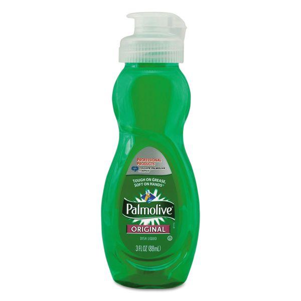Palmolive Dishwashing Liquid, Original Scent, 3oz Bottle, 72/Carton