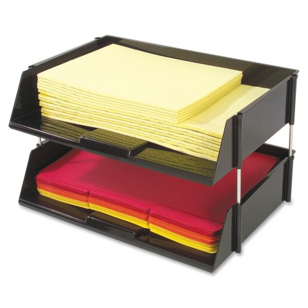 Deflect-o Heavy-Duty Side-Loading Letter Tray