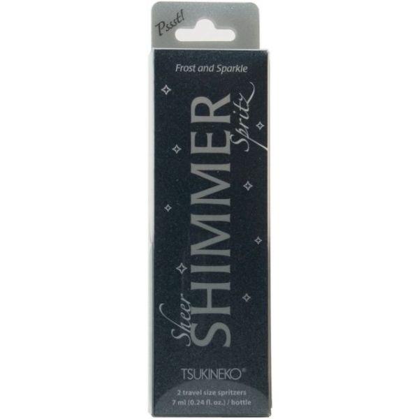 Pssst! Sheer Shimmer Spritz .24oz 2/Pkg