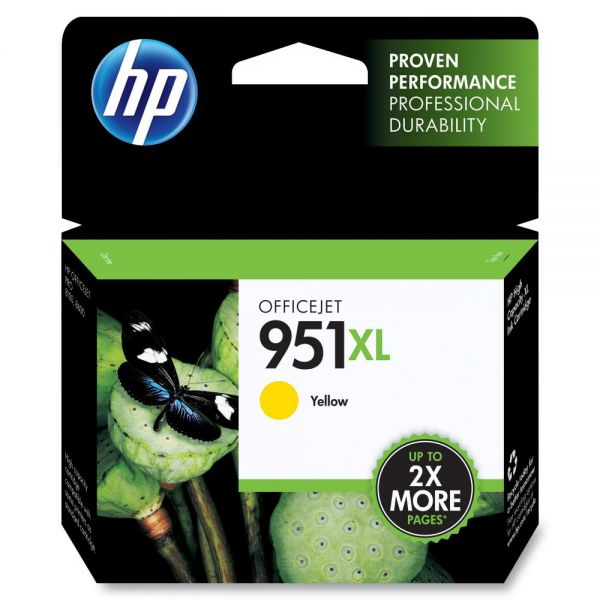 HP 951XL High Yield Yellow Ink Cartridge (CN048AN)