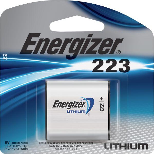 Energizer 223 e2 Lithium Photo 6-Volt Battery