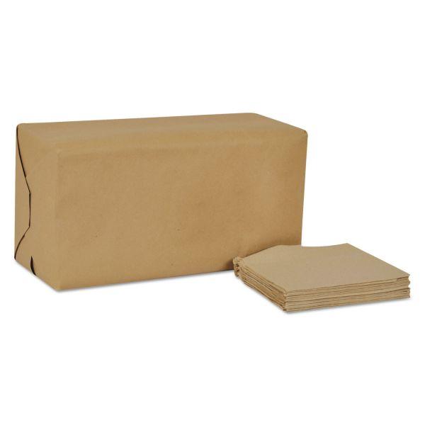 Tork Universal Masterfold Dispenser Napkins, 1-Ply, 13x12 Bag-Pack, Natural, 6000/Ct