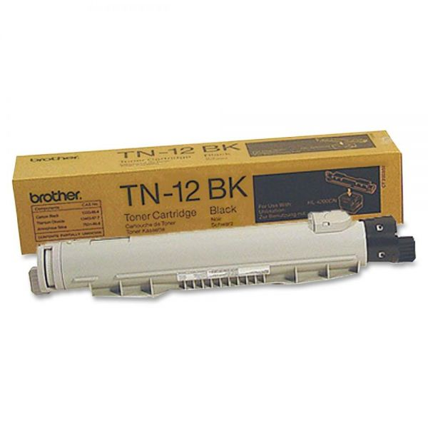 Brother TN-12BK Black Toner Cartridge