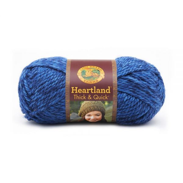 Lion Brand Heartland Thick & Quick Yarn - Olympic