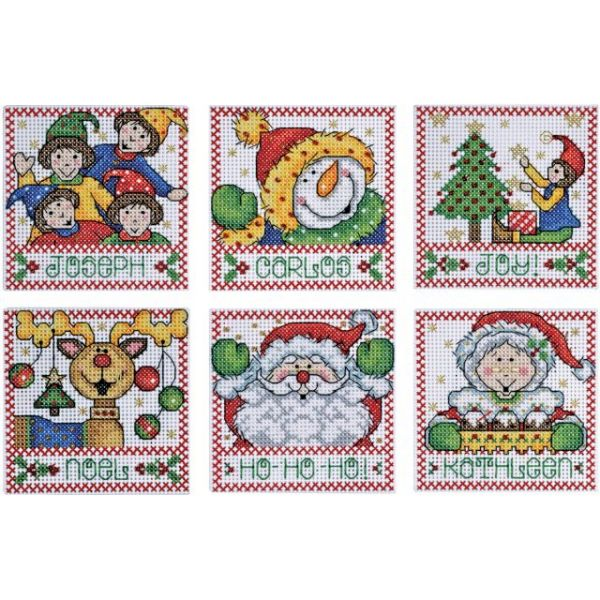 Holiday Tags Counted Cross Stitch Kit