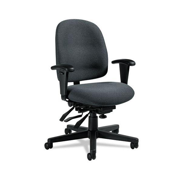 Global Granada Series Low-Back Multi-Tilter Office Chair