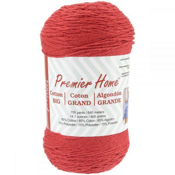Premier Home Cotton Grande Yarn - Cranberry