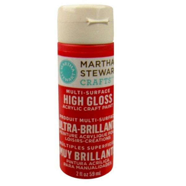Martha Stewart High Gloss Acrylic Craft Paint
